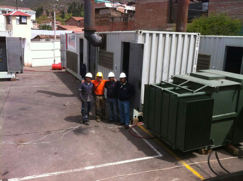 6MW plant in the city of Cuzco