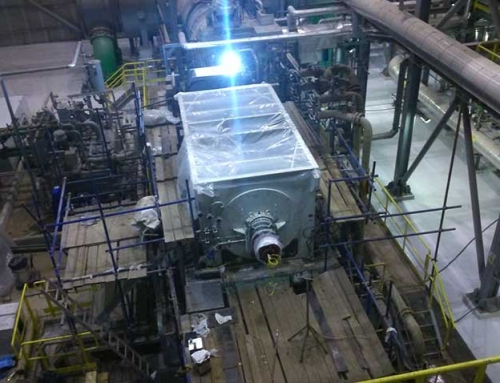 Cold commissioning of a 30 MW generator in Turkey